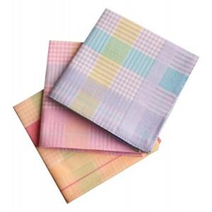 Romano Multi Color Checkered Cotton Handkerchief