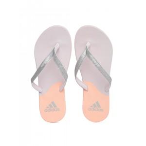 Adidas Colourblocked & Shimmery Flip-Flops