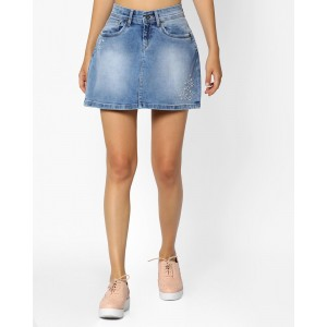Buy latest Women s Skirts from Pepe Jeans online in India - Top ... 2f4775283