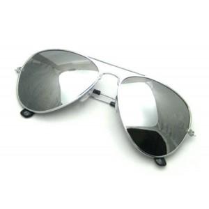 V.S Unisex Silver Mercury Sunglass