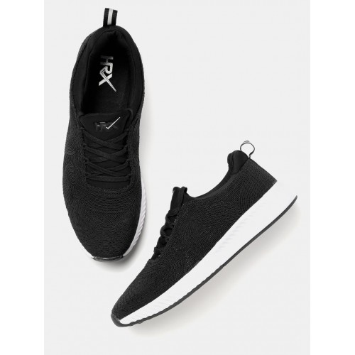 HRX by Hrithik Roshan Black Running Shoes official cheap price WFTRr9C1