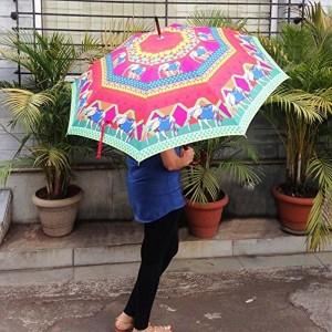 The Elephant Company Multi Color Polyester Umbrella