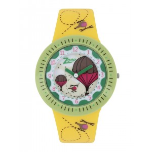 Zoop by Titan Boys Yellow Printed Dial Watch 26007PP03
