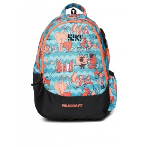 Wildcraft Multi Color Polyester Printed Backpacks