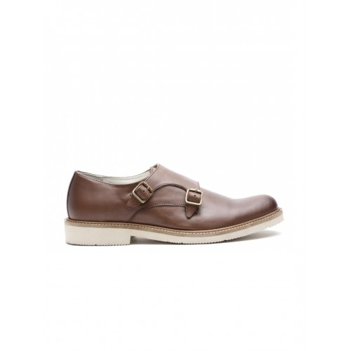 discount best store to get United Colors of Benetton Brown Leather Monks low shipping fee cheap price clearance fashionable outlet best seller quality free shipping outlet cXMfPlBtP
