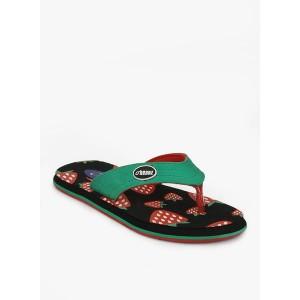 Beanz Green Flip Flops
