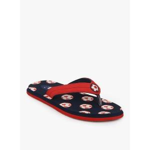 Beanz Navy Blue Flip Flops