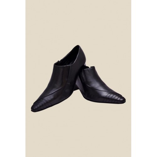 Buy Enzo Cardini Black Synthetic Slip-On Formal Shoes online ... 5a0b1435a