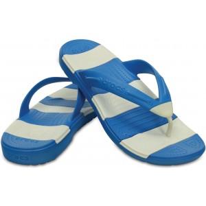 Crocs Blue & White Boys Slipper