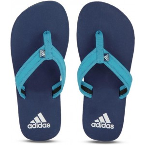 Adidas Blue Eva Boys Slip On Slipper Flip Flop
