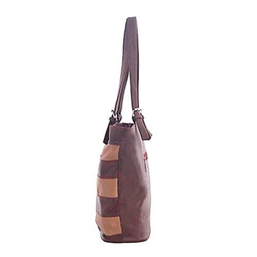 10th Planet Maroon Women S Handbag Gm10718