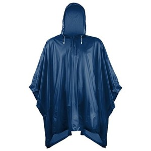 Romano Navy Blue PVC Waterproof Rain Ponchos Raincoat
