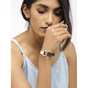 DressBerry Black & Gold-Toned Bracelet