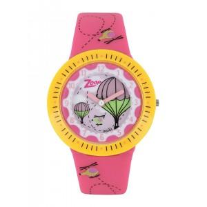Titan Pink Printed Dial Analog Watch 26007PP02