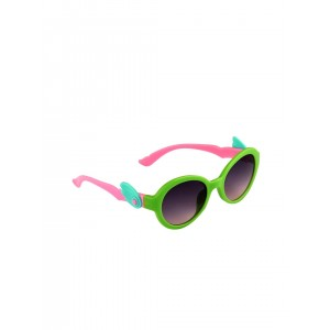 Stoln Green & Pink Palstic Oval Sunglasses