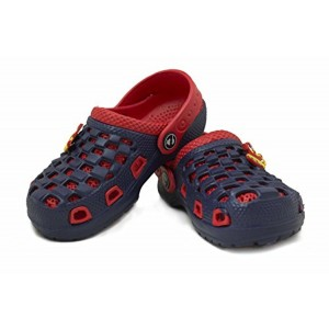 Phedarus Boy's Red and Blue Comfortable EVA Clogs