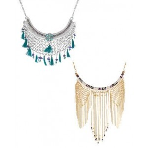 Voylla Combo of 2 Statement Necklace