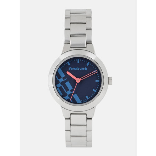 Fastrack Blue Analogue Watch