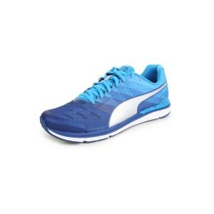 Puma Speed 300 IGNITE Blue Mesh Running Shoes