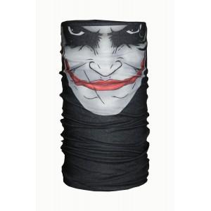 Black Joker Printed Bandana