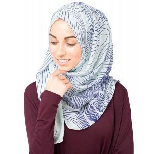 Silk Route Patterned Stylish women's Hijab Scarf