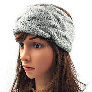 Magic Needles Magic Needles Winter Woolen Headband Earwarmer Earmuff