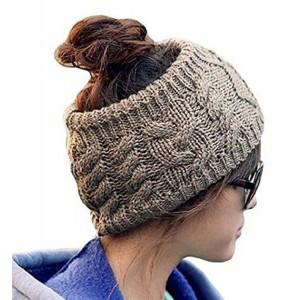 Jovana Winter Warm Twist Knitting Wool Hat Headgear