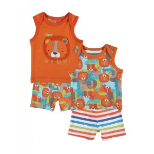 mothercare Kids Pack of 2 Printed Nightsuits 5021468463539