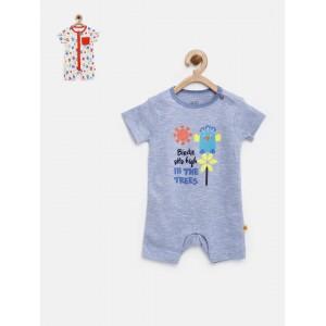 FS Mini Klub Infant Boys Pack of 2 Rompers