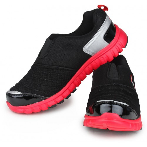 Sparx Black Men Running Shoes (SM-201)