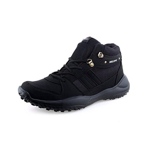 c759a3d8f0e Buy Welcome Black Sports Shoes For Men online