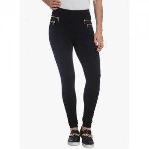 Only Black Solid Jeggings