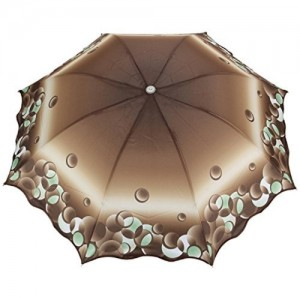 FabSeasons FabSeasons Digital Print, 3 Fold Fancy Manual Umbrella for Rain, Summer & All weather conditions