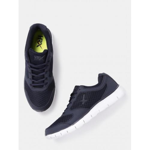... HRX by Hrithik Roshan Men Navy Walking Shoes ...