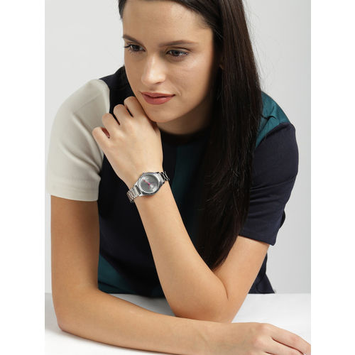 Fastrack Silver-Toned Analogue Women Watch NK6152SM01