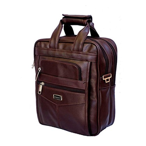 AYS AYS Stylish Faux Leather Small Messenger Office Cash Messenger Sling Bag