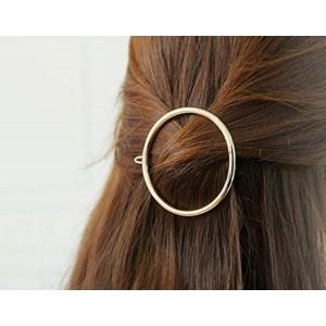 Chronex Golden Alloy Hair Clip Pack Of 2