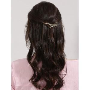 Hair Drama Company Golden Alloy Hair Clip