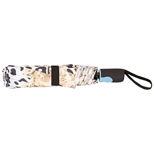 FabSeasons FabSeasons Leopard Digital Printed, 3 fold fancy Automatic Umbrella for Rains, Summer & All Year Use