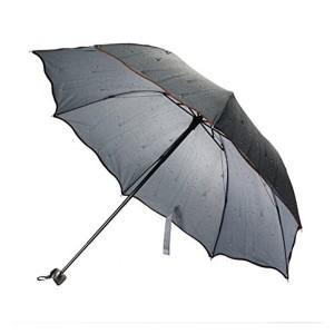 FabSeasons FabSeasons Blue Striped 3 Fold Fancy Umbrella for all Weather