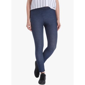 Vero Moda Blue Solid Jeggings