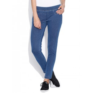 United Colors of Benetton Blue Jeggings