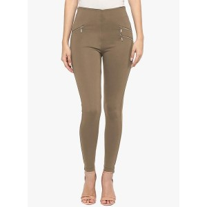 Sakhi Sang Brown Solid Jeggings