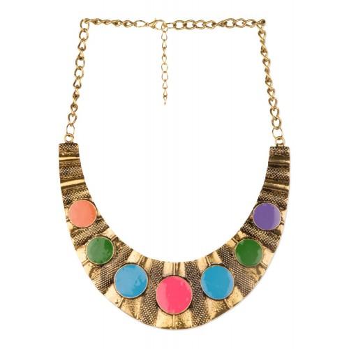 Diva Walk Diva Walk multi alloy necklace