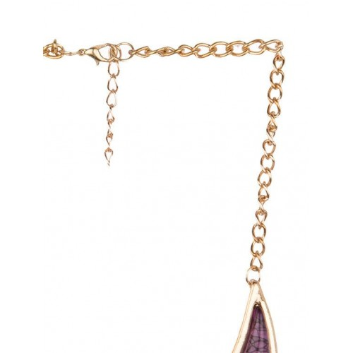 Diva Walk Diva Walk purple alloy necklace