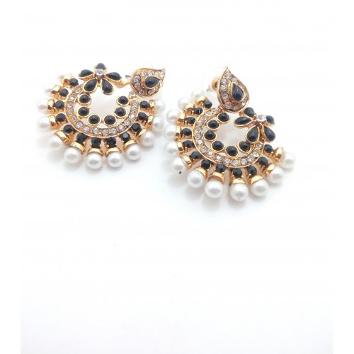 Gennext pearl collection Alloy Chandbali Earring