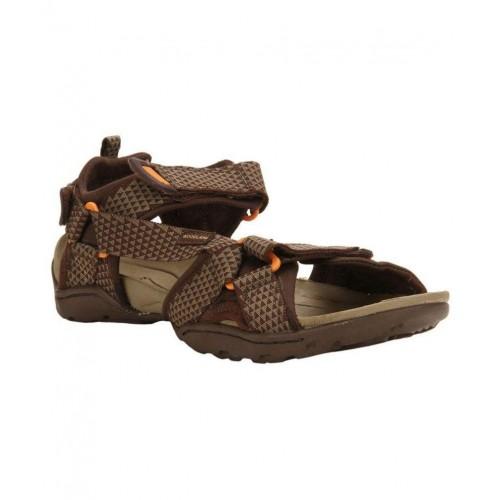 cd98b7fd61aa Buy Woodland GD 1612114 Brown Floater Sandals online