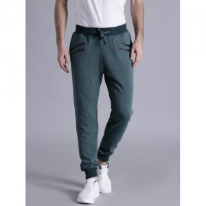 Kook N Keech Teal Solid Track Pants