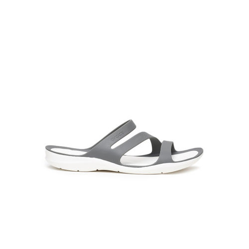 Crocs Grey Swiftwater W Fashion Slippers