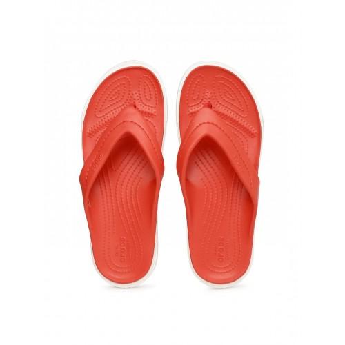 e853163986101 Buy Crocs Unisex Red CitiLane Flip-Flops online
